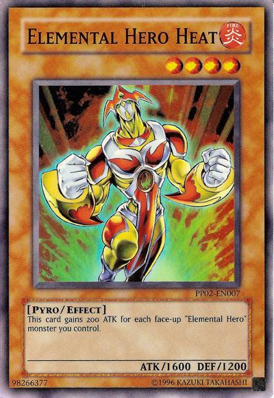 pp02-fr007 Yu-gi-oh elemental hero heat