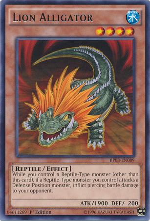 Lion Alligator
