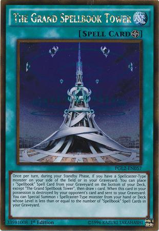 The Grand Spellbook Tower
