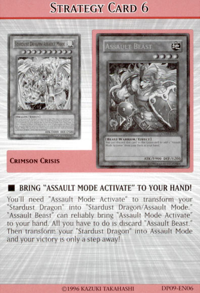"""Bring """"Assault Mode Activate"""" to your hand!"""