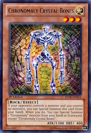 Chronomaly Crystal Bones