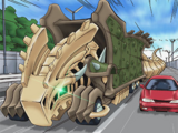 Fossil Machine Skull Convoy (anime)