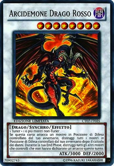 Arcidemone Drago Rosso