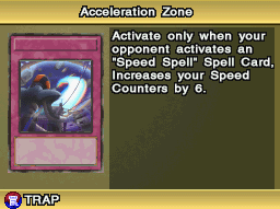Acceleration Zone