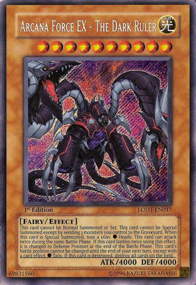 Arcana Force EX - The Dark Ruler