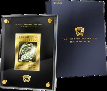"""Blue-Eyes White Dragon"" 20th Anniversary Gold Edition"