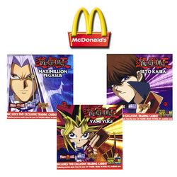 2002 Yugioh McDonalds Promotional Sealed promo Pack lot of 5