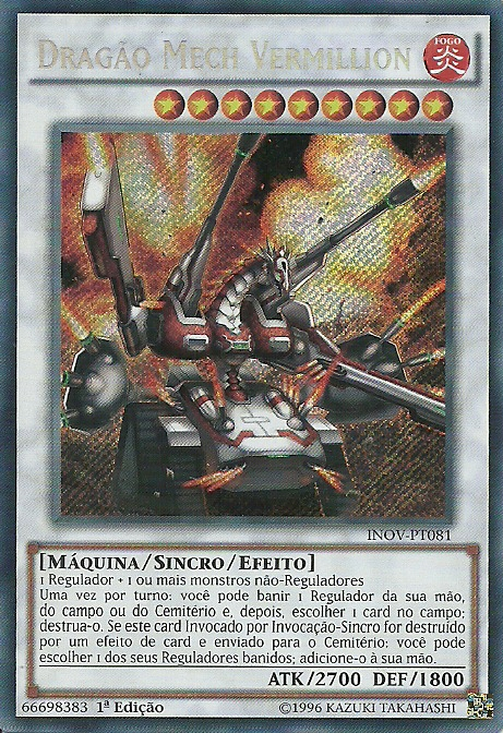 Vermillion Dragon Mech