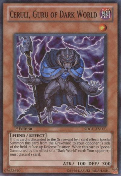 Ceruli, Guru of Dark World