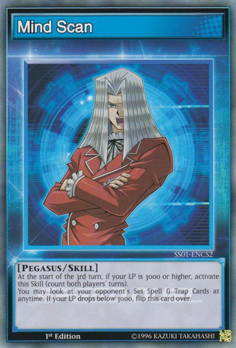 Mind Scan (Skill Card)