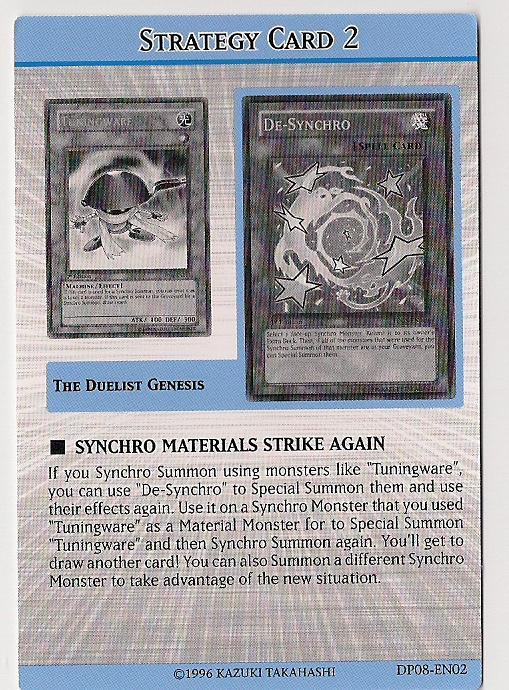 Synchro Materials strike again