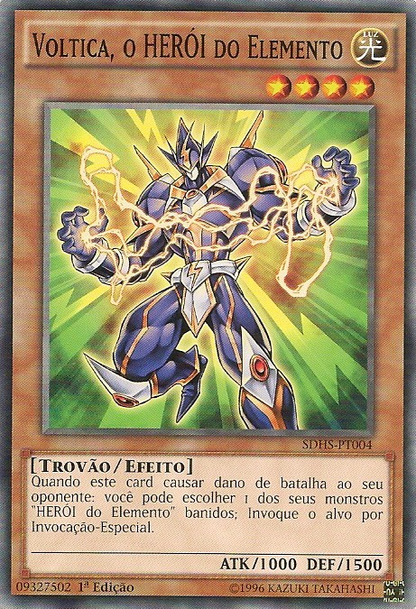 Elemental HERO Voltic