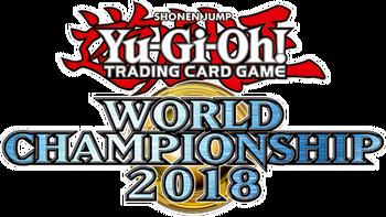 Yu-Gi-Oh! World Championship 2018 attendance cards