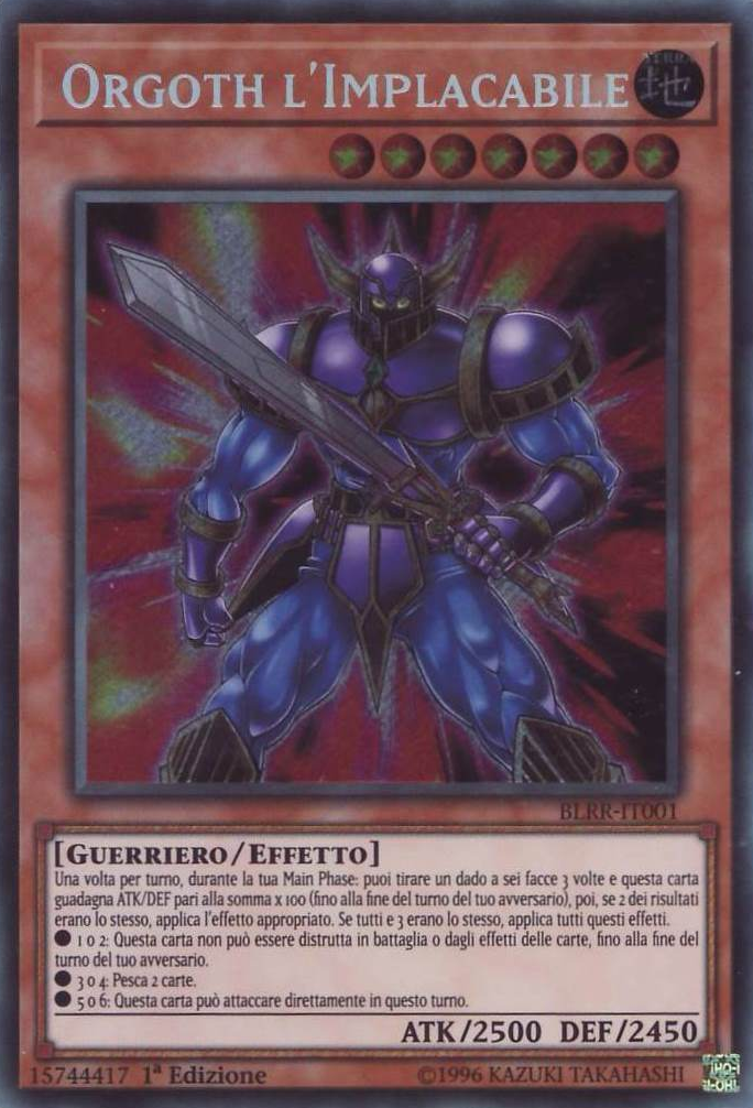 Battles of Legend: Relentless Revenge (TCG-IT-1E)