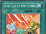 The Law of the Normal
