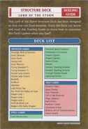 Deck List Lord of the Storm
