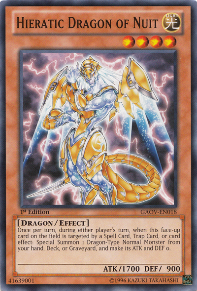 Hieratic Dragon of Nuit