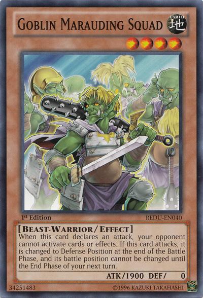 Goblin Marauding Squad