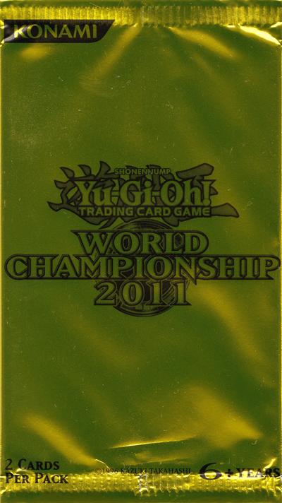 World Championship 2011 Card Pack