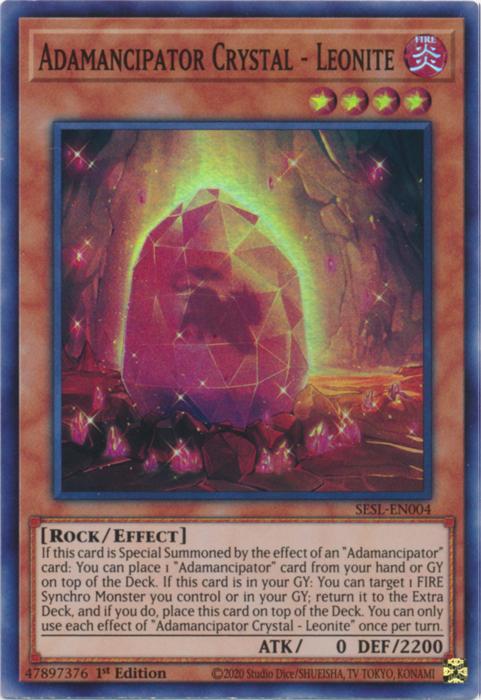 Adamancipator Crystal - Leonite