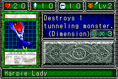 Harpie Lady (DDM video game)