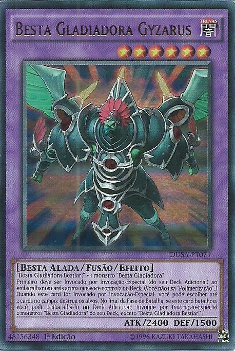 Gladiator Beast Gyzarus
