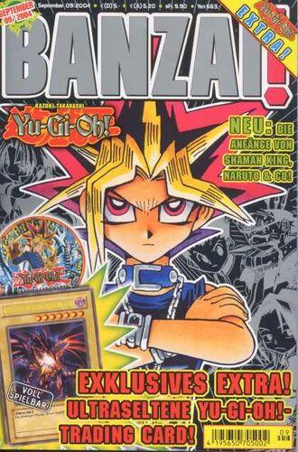 Banzai! September 2004 promotional card