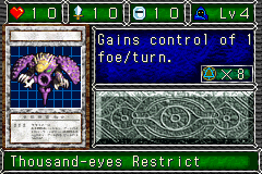 Thousand-eyes Restrict (DDM video game)