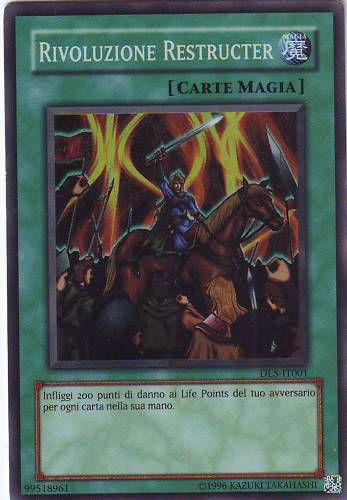 Duelist League Series 5 participation card (TCG-IT-UE)