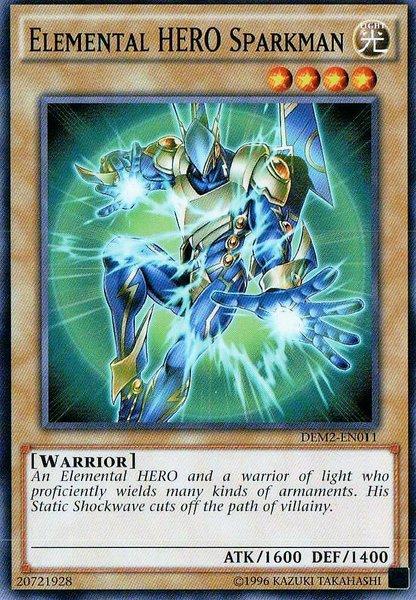 Elemental HERO Sparkman