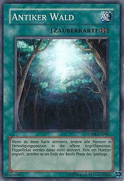 Antiker Wald