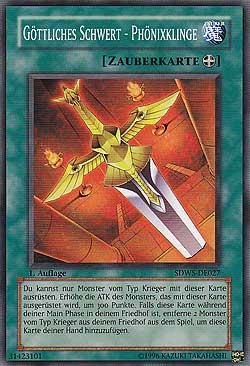 Göttliches Schwert - Phönixklinge
