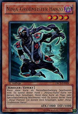 Ninja-Großmeister Hanzo