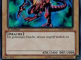 Rotäugiger schwarzer Drache