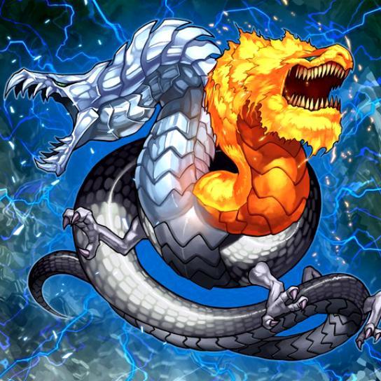 Dragón de Hielo y Fuego
