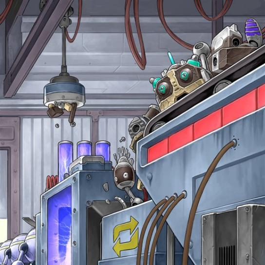 Línea de Ensamblaje de Máquinas