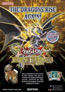 Poster baraja de estructura renacimiento de los dragones verdaderos