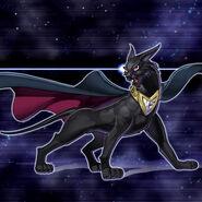 Foto pantera oscura neo espacial