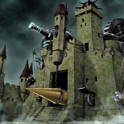 Castillo de Mecanismo Antiguo