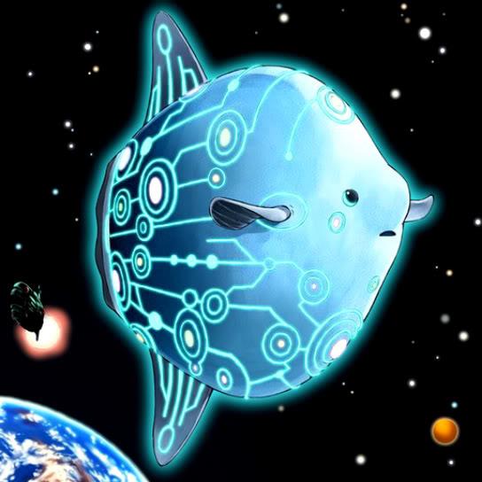 Pez Luna Espacial