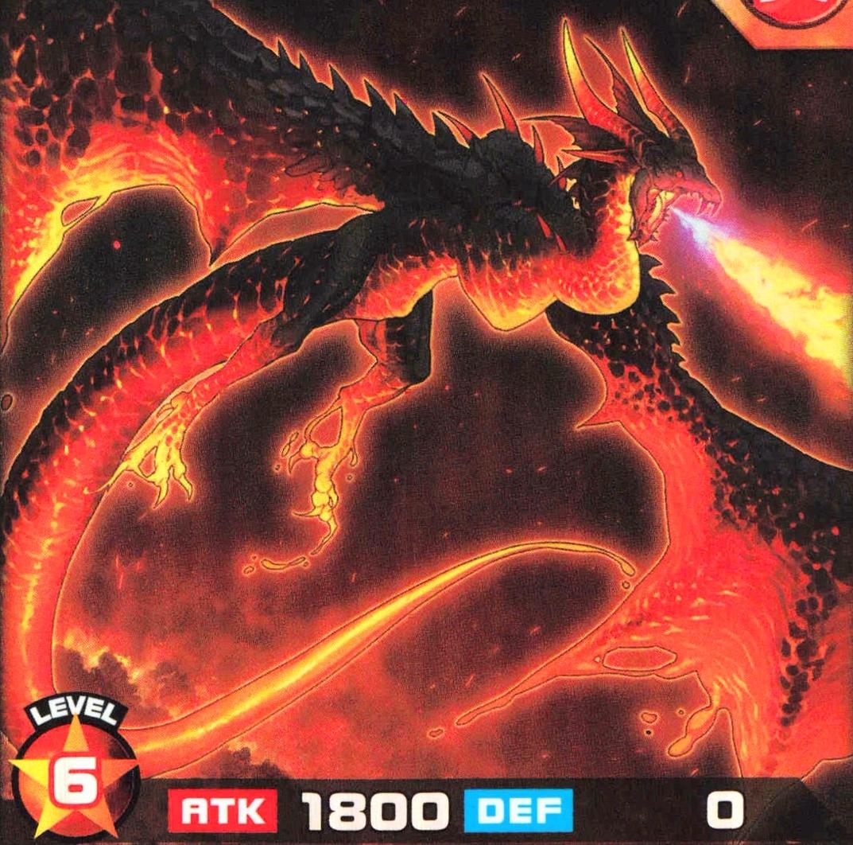 Dragón de la Llamarada Ardiente