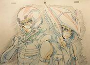 Shay y Cuervo por Hiroki