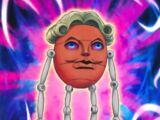 Marioneta Trucada Cabeza de Huevo