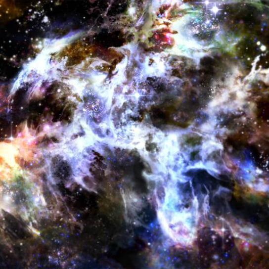 Brillo del Polvo de Estrellas