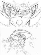 Diseño Yusei casco