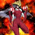 Foto héroe elemental burstinatrix
