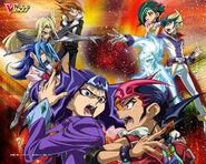 Barians vs Yuma Kite y Astral (Kotori mirando)