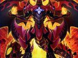 Dragón Supernova Rojo