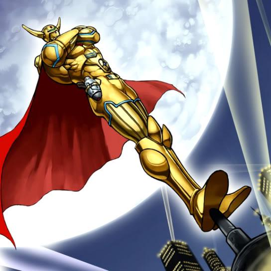 HÉROE Elemental Capitán Gold
