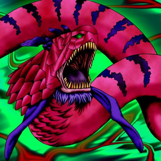 Serpiente Marina Roja Gigante
